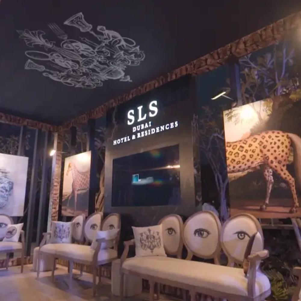 SlS hotel event